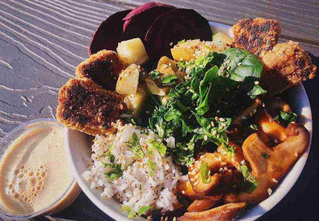 Eating Fresh atWildflower Vegan Café