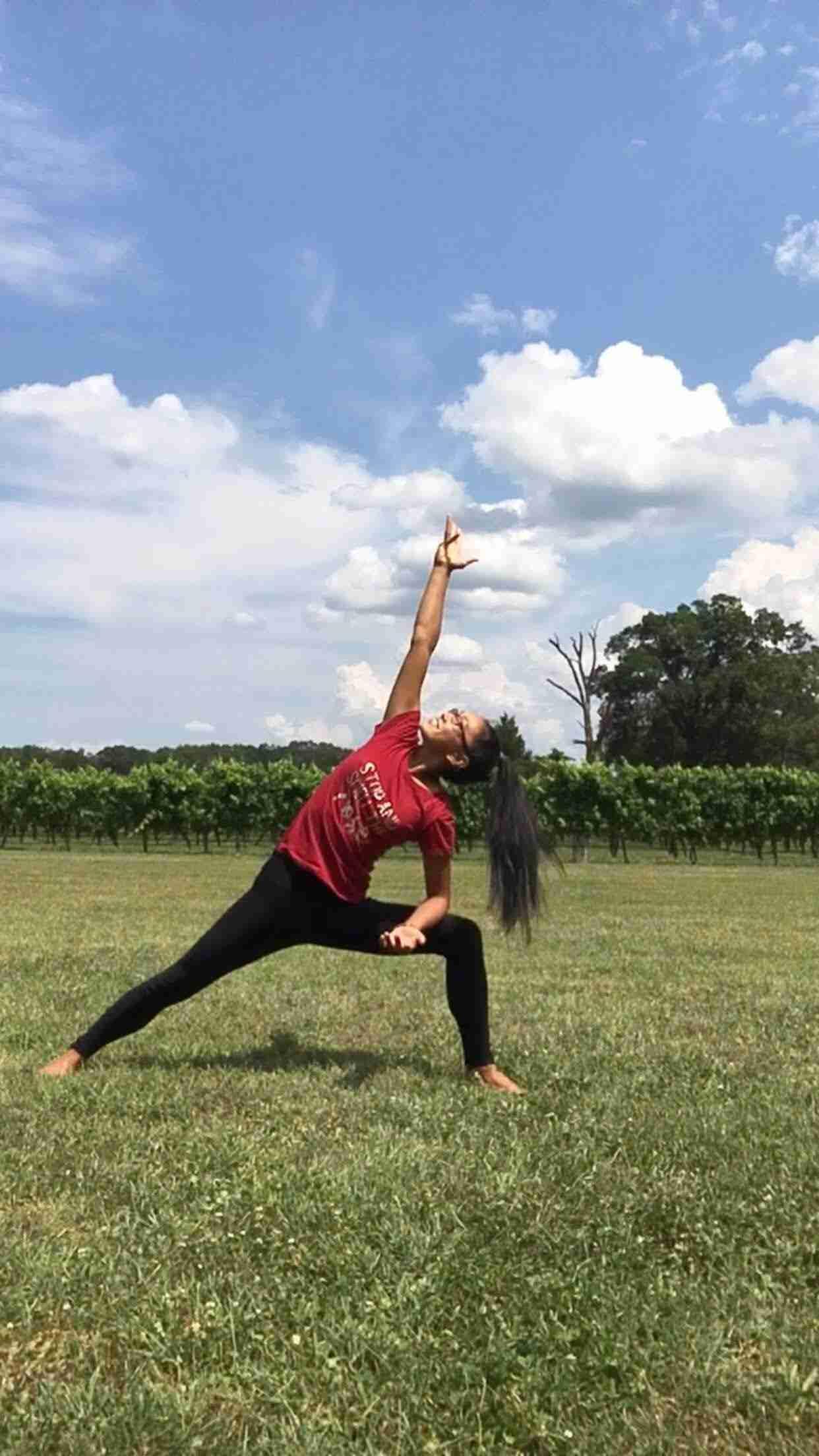 Yoga in the Vineyard